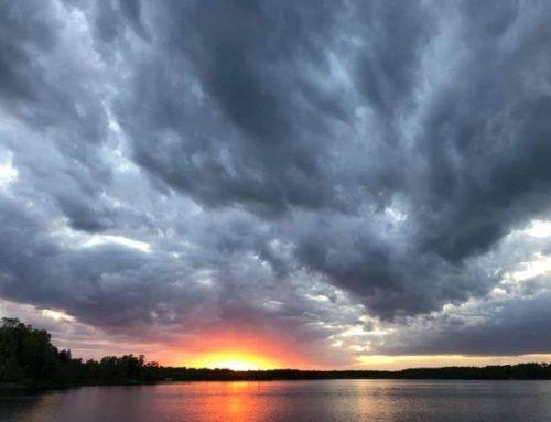 Sunsets at North Star Lake Resort. Wow!